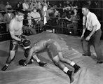 High School Boxing Match Oak Ridge