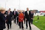 Uzbek Deputy Prime Minister Rozukulov, Secretary Clinton, and GM Uzbekistan General Director Spendel Arrive at the GM FactorySecretary Clinton,