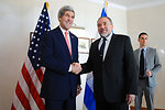 Secretary Kerry Meets With Israeli Foreign Minister Lieberman
