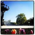 Bartholdi Fountain opens for season.