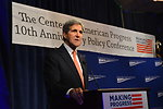 Secretary Kerry Delivers Remarks at the Center for American Progress