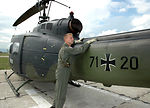 Air Force captain deployed with German helicopter unit in Kosovo