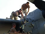 Team deploys to recover damaged aircraft