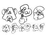 DiddleTheMouse Regular Font
