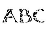 Leafy Stencil Regular Font
