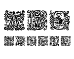 MasselleAM Regular Font