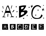 Retro Caps BW Font