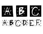 Retro Caps WB Font