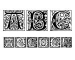 Romantique Initials Regular Font