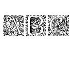 Cherubic Initials Regular Font