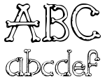 Sketch Bones Regular Font