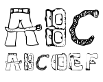 Sketch Clothes Regular Font