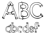 Sketch Pipes Regular Font