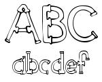Sketch Pipes Regular Font