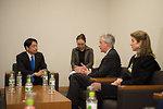 Deputy Secretary Burns with Japan's Defense Minister Onodera