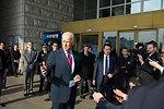 Vice President Biden Addresses Reporters at the War Memorial of Korea