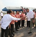 U.S. Secretary of State John Kerry Shows His Gratitude to Those Who Assisted Him in the Philippines