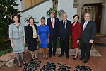 Secretary Kerry and Assistant Secretary Jacobson With OAS and Inter-American Dialogue Officials