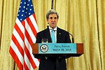 Secretary Kerry Addresses Reporters About Meeting With Russian Foreign Minister Lavrov