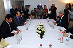 Secretary Kerry Holds a Bilateral Discussion With Qatari Foreign Minister al-Attiyah