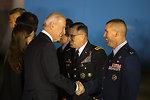 Vice President Biden Arrives in the Republic of Korea