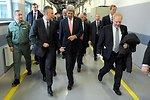 Secretary Kerry Walks With Polish Defense Minister Siemoniak