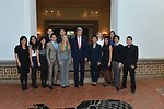 Secretary Kerry Meets With OAS and WHA Interns