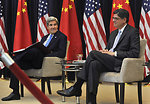 Secretary of State John Kerry and Secretary Lew during U.S. China Strategic and Economic Dialogue