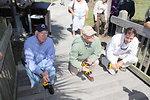 Secretary Salazar, Ducks Unlimited Chairman John Pope, and Director Dan Ashe