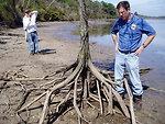 Erosion at Lake Tecumseh