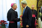 Secretary Kerry Meets With Vatican Secretary of State Parolin