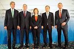 Quartet Members Pose For Photo Before Meetings in Sidelines of Munich Security Conference