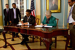 Assistant Secretary Jones and Pakistani Foreign Secretary Jilani Sign a Science and Technology Agreement Extension