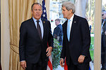 Secretary Kerry Meets With Russian Foreign Minister Lavrov in The Hague