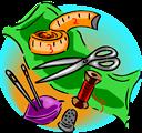 Various sewing tools