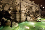 The Neptune Fountain at Night