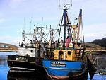 Trawlers alongside