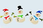Drawing snowmen