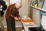 Karl Haller and cake