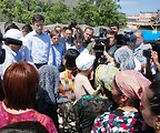 Assistant Secretary Blake Speaks With Refugees in Uzbekistan