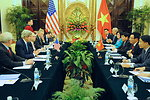 Secretary Kerry Holds a Bilateral Meeting With Vietnamese Foreign Minister Minh