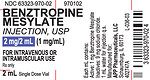 RECALLED – Benztropine Mesylate Injection