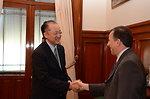 Dr. Jim Yong Kim Meeting with Mexican Finance Secretary Jose Antonio Meade