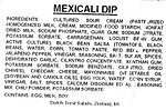 RECALLED – Mexicali Dip