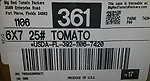 RECALLED – Tomatoes