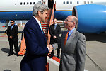 Charge d'Affaires Storella Welcomes Secretary Kerry to Brussels for NATO Ministerial