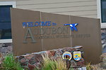Welcome to Audubon sign