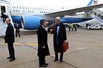Secretary Kerry Arrives in Paris For London 11 Meeting