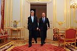 Secretary Kerry, Russian Foreign Minister Lavrov Arrive for Ukraine Meeting in Paris