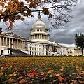 Capitol Dome on a gray start to November in DC